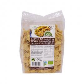 Copos Maiz y Trigo Sarraceno Crujientes Eco 250 Gr