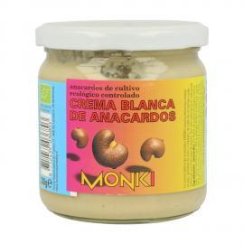 Crema Blanca de Anacardos 330 Gr Monki