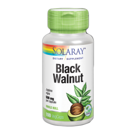 Black Walnut Hull (Nogal Negro) 100 Cap