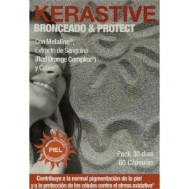 Kerastive Bronceado & Protect 60 Cap