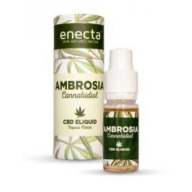 Cbd E-Liquido Ambrosia Sabor Cannabis 200Mg 10Ml