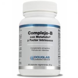 Complejo-B Con Metafolin y Factor Intrinseco 60 Cap