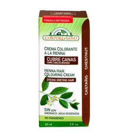 Crema Colorante Henna Castaño 60 Ml