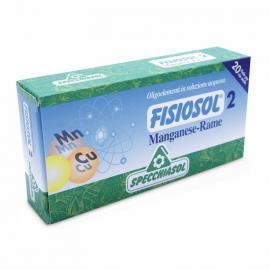 Fisiosol 2 Manganese-Rame (Manganeso-Cobre) 20 Amp