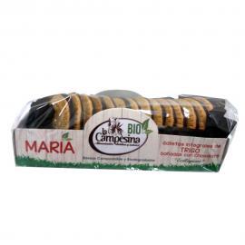 Galletas Int. de Trigo Bañadas Con Chocolate 200 Gr