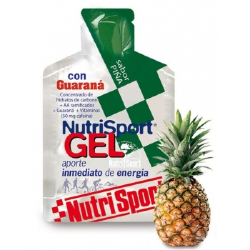 GEL SABOR PIÑA CON GUARANA 40 GR