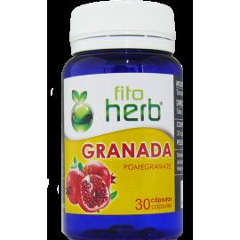 Granada 30 Cápsulas Fito Herb