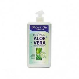 Jabón de Aloe Vera Vitaminado 1 L Shova de
