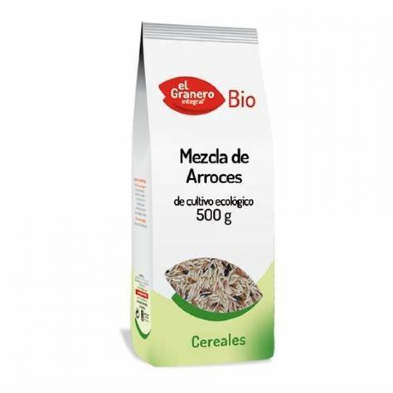 MEZCLA DE ARROCES BIO 500 GR
