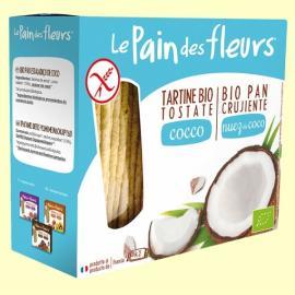 Pan de Flores Crujientes Con Coco Bio S/gluten 150 Gr
