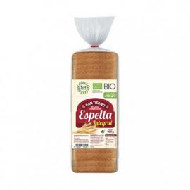 Pan de Molde Tierno Con Aceite de Oliva Espelta 400 Gr