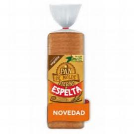 Pan de Molde Rústico Integral Tierno de Espelta Eco 350 Gr