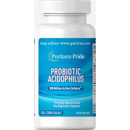 Probiotic Acidophilus 100 Millones 100 Cap