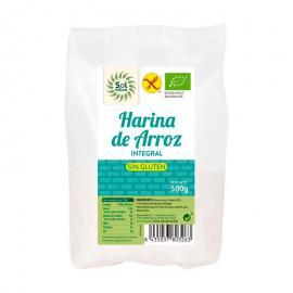 Harina de Arroz Integral Sin Gluten 500 Gr