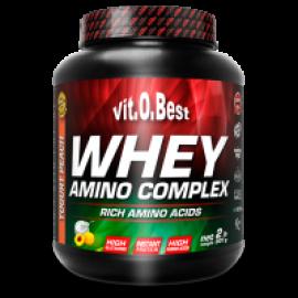 Whey Amino Complex Sabor Yogurt-Limón 2 Lb