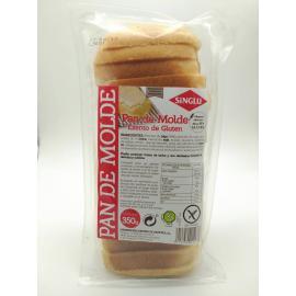 Pan de Molde Trigo Excento de Gluten 350 Gr