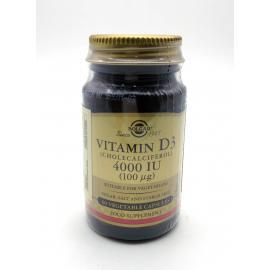 Solgar Vitamina D3 4000 Iu 60 Cap