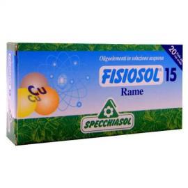 Fisiosol 15 Rame (Cobre) 20 Amp