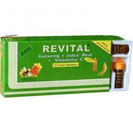 Revital Ginseng + Jalea + Vitamina C 20 Amp