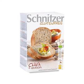 Pan Molde Chia y Quinoa S/g 2 X 500 Gr