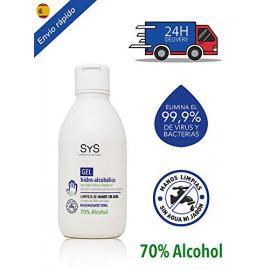 Gel Hidroalcoholico 250 Ml C. Aloe Vera  Sys