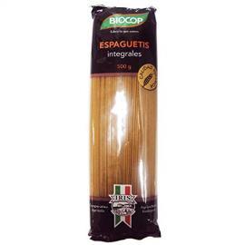 Espaguetis Integrales Trigo Duro 500 Gr Biocop